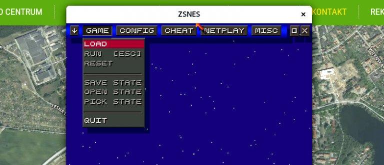 ZSNES – emulator konsoli SNES | CKZiU Mrągowo